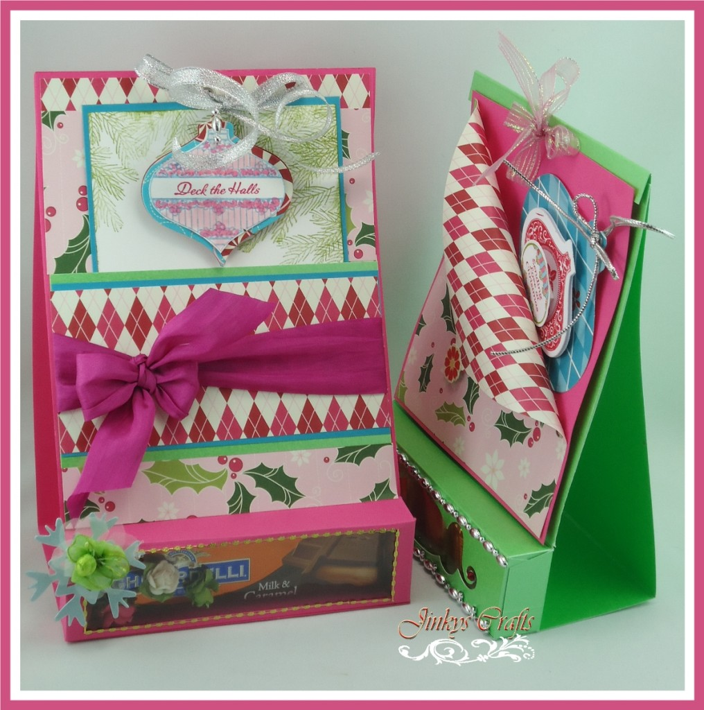 3-In-1 Christmas Treat Box Card