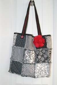 Quilted Rag Bag