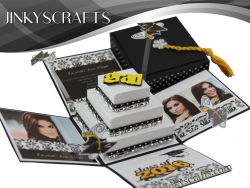 Custom 2016 Graduation Pop Up Invitation