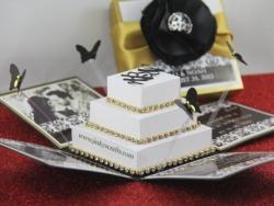 Damask Wedding Boxed Invitations