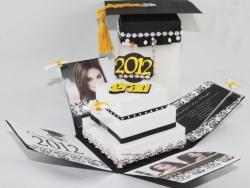 Creative Graduation Pop up Invitation