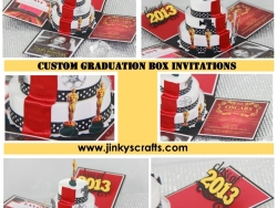 Oscar-Hollywood Themed Invitations