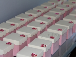 Pink & Creme Mis Quince Invitations