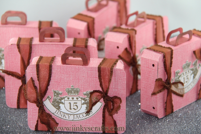 Suitcase Invitations