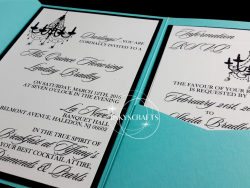 Pocketfold Tiffany Invitations