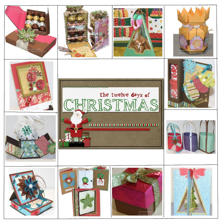 12 days of christmas craft tutorials second edition for Crafty christmas gifts