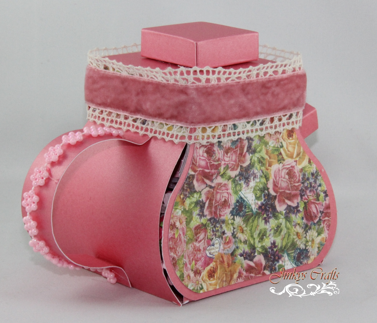 Teapot Exploding Box PDF Tutorial Jinkys Crafts