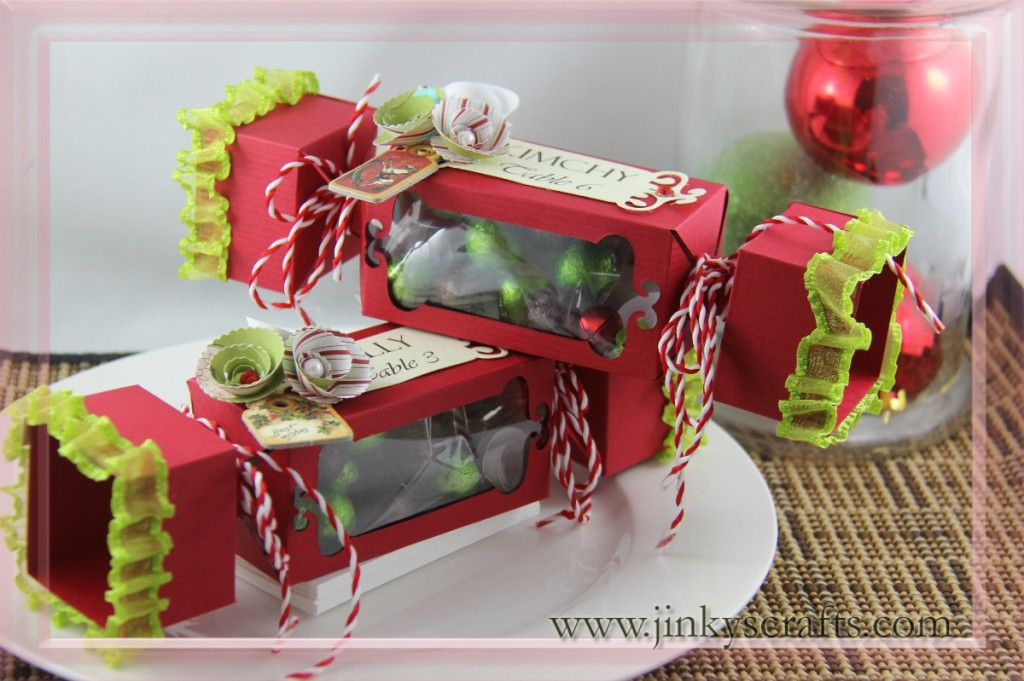 Christmas Box Candy Place Card