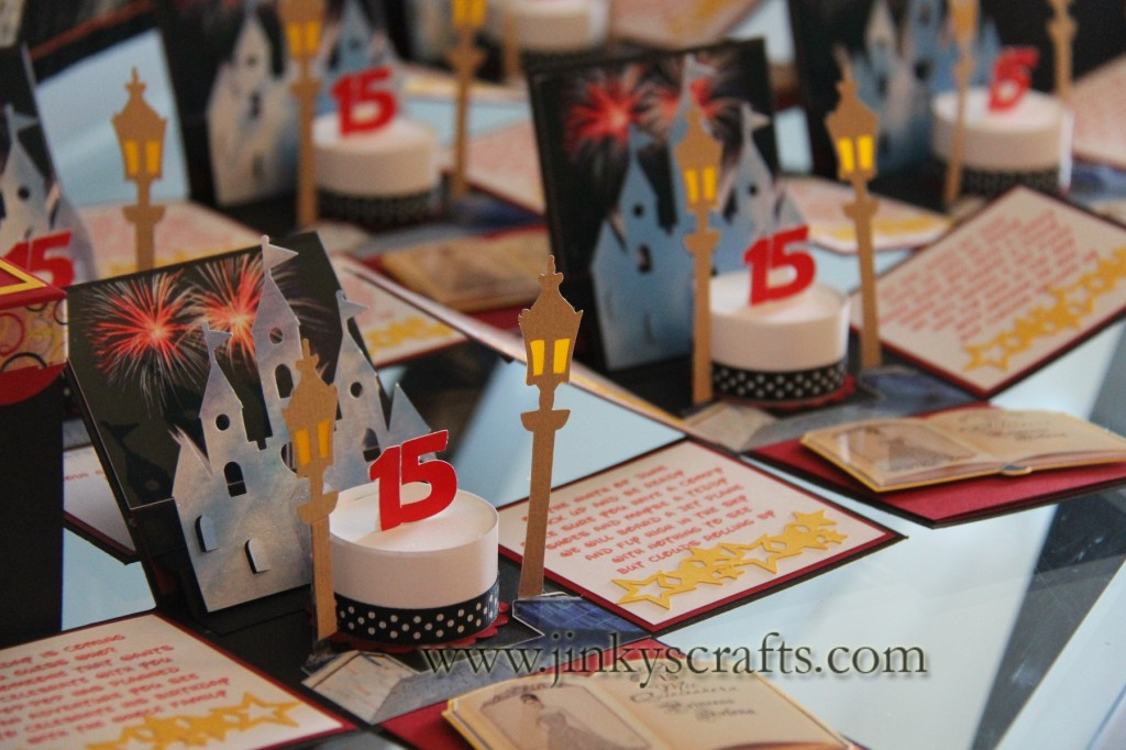 princess pop-up invitations - jinkys crafts, Birthday invitations