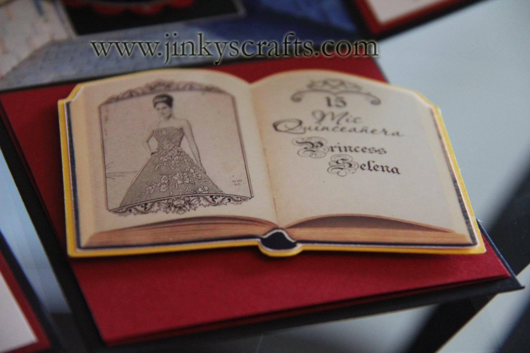 Princess Pop-Up Invitations - Jinkys Crafts