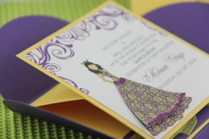 Pochette Quinceañera Pop-Up Invitations