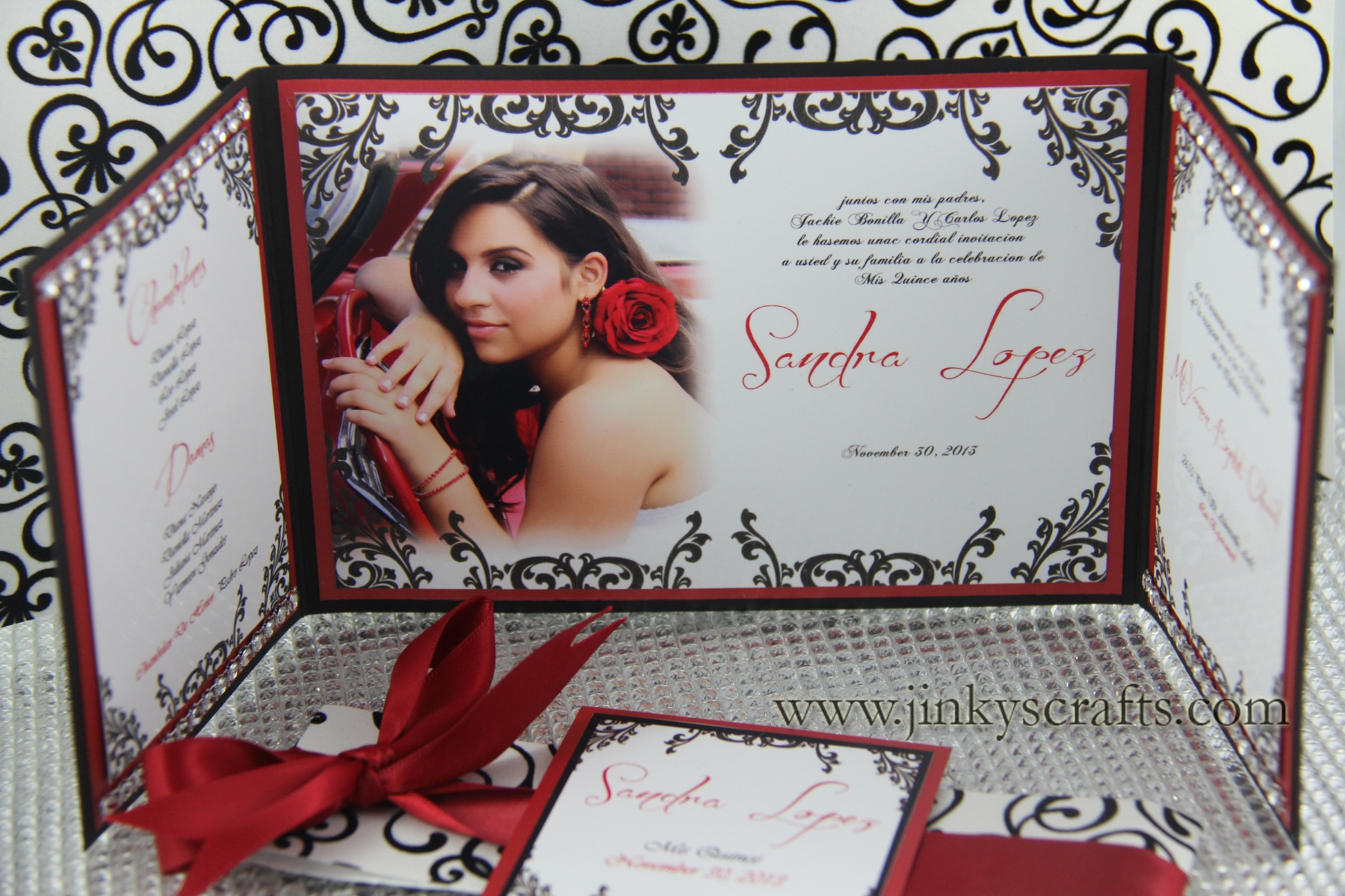 Hollywood Inspired Gatefold Card