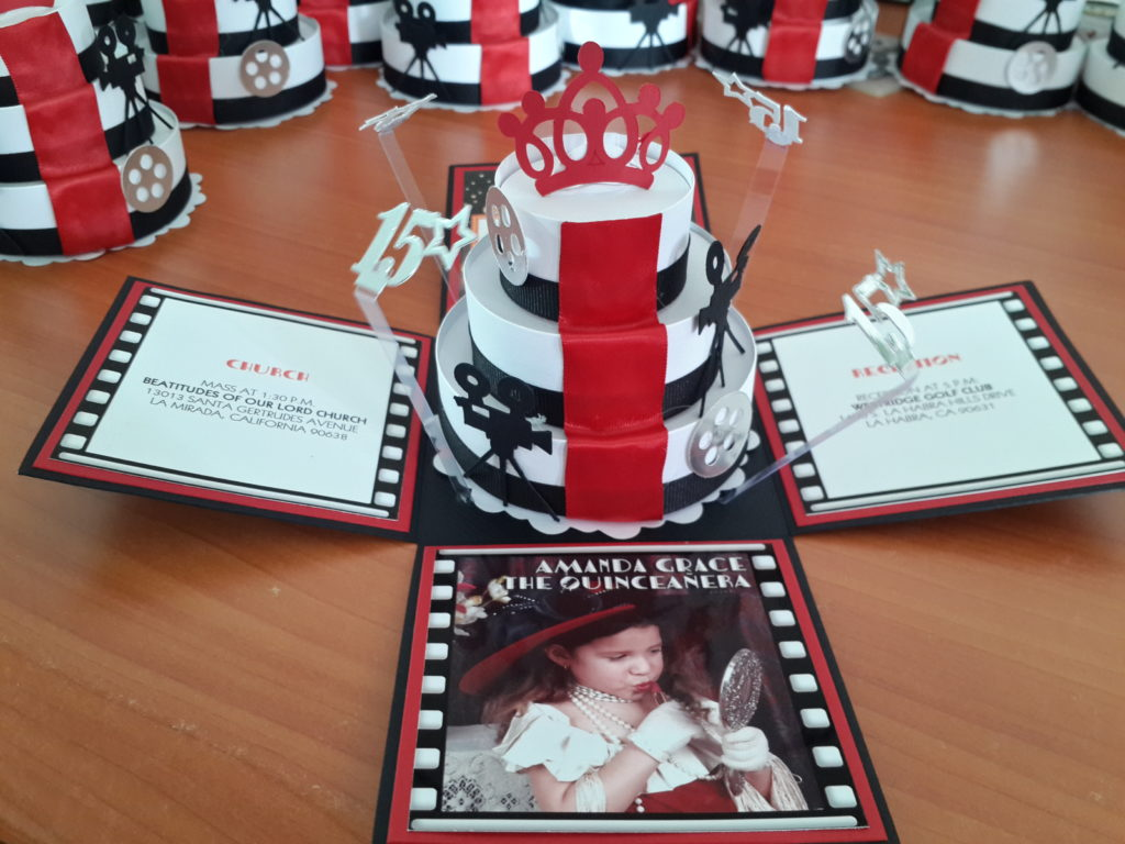 Red Carpet Invitation, Hollywood Theme Sweet 16