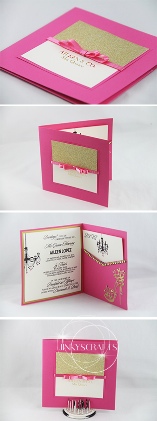 Unique Quinceanera Invitation