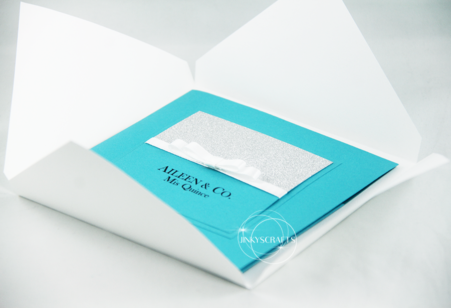 Stylish Quinceanera Invitation