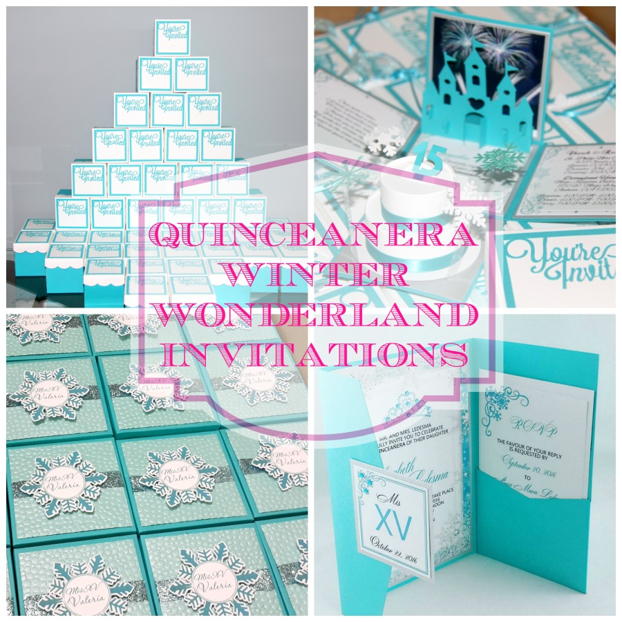 top winter wonderland themed custom invitations 2016 jinkys crafts