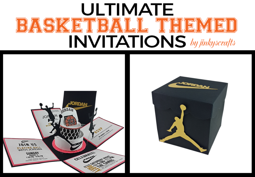 Basketball Themed Invitations + Cakes Ideas for Quinceanera, Baby Shower, Sweet 16, Bat Mitzvah