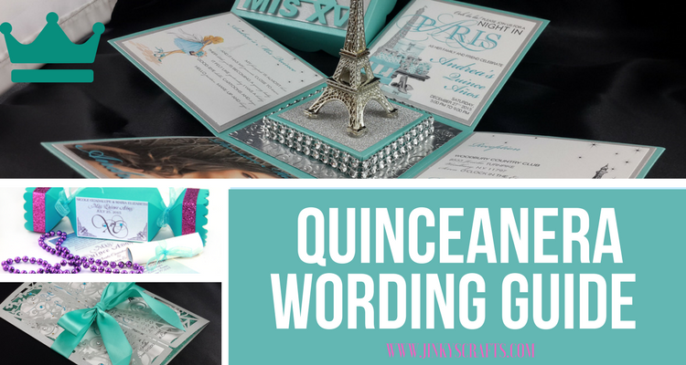 Quinceanera Wording Guide Verse